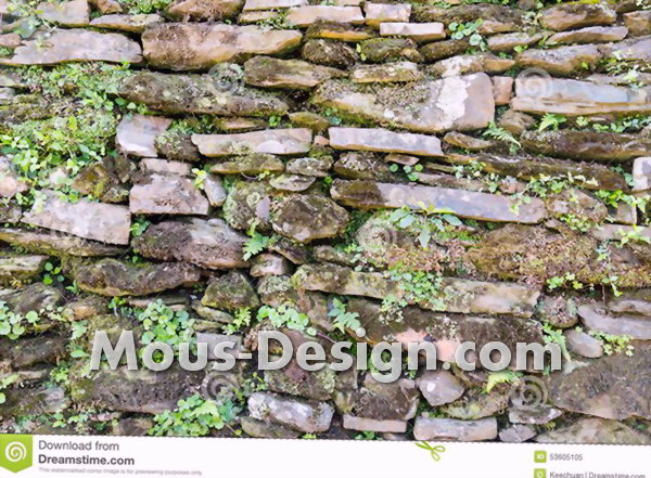 Conception de mur antique